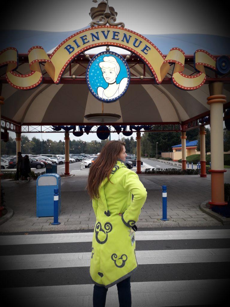 Sylvie a Disneyland Paris